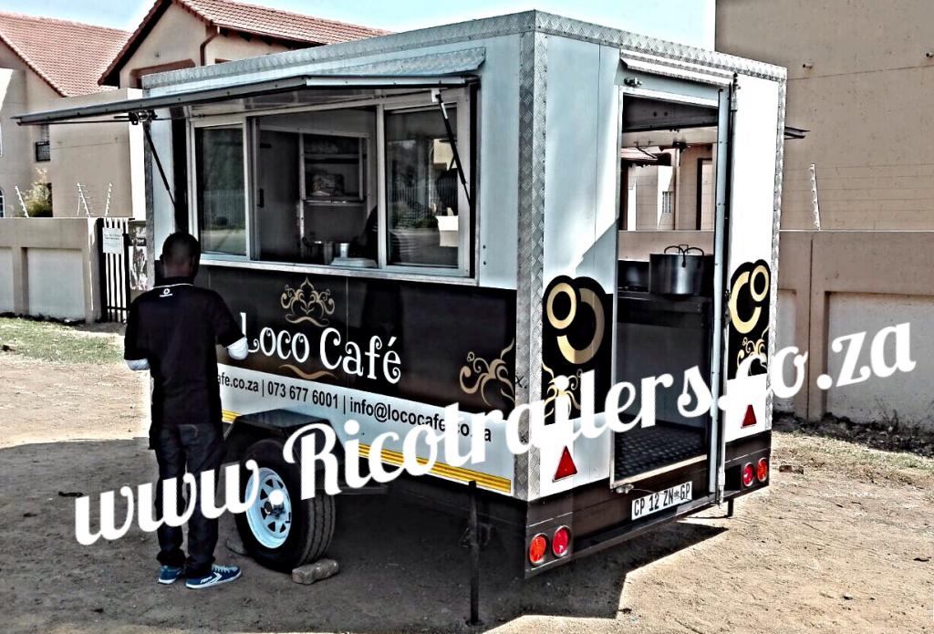 Mobile kitchen trailer manufacturer tel 27 0 11 474 1124 for Sa company kitchen