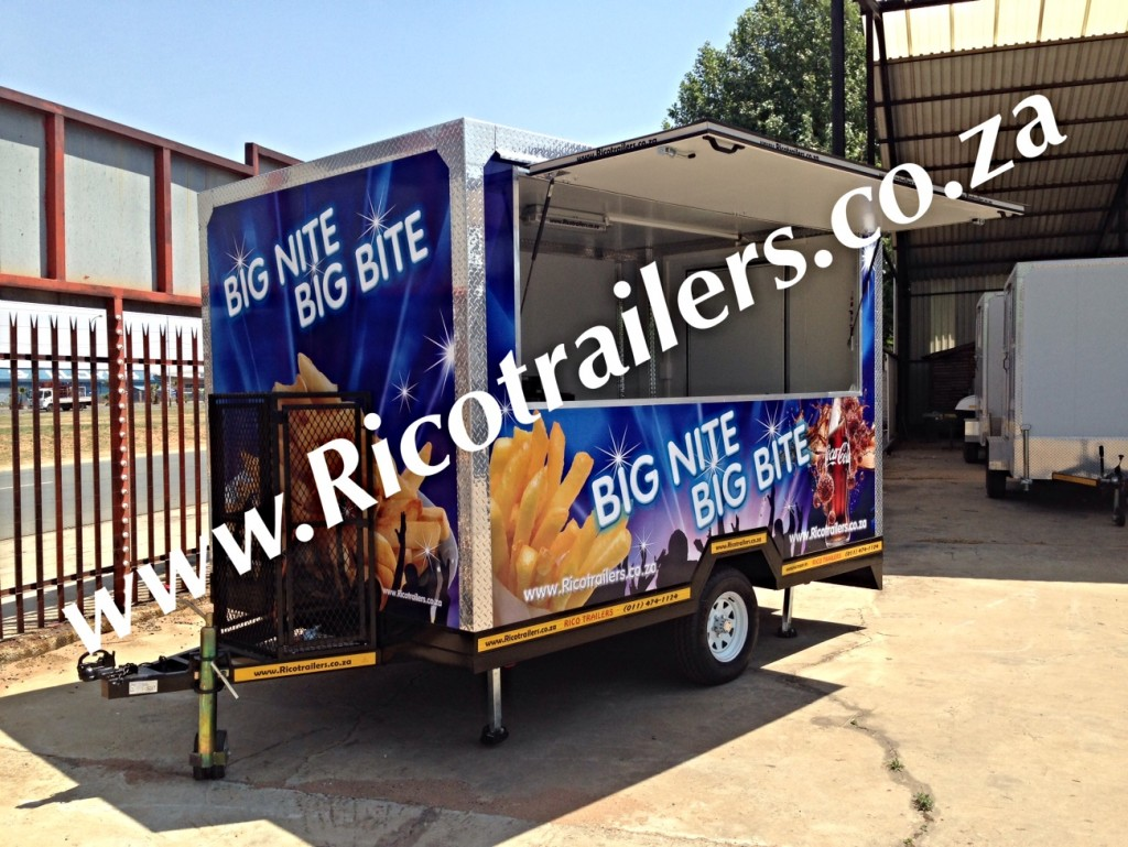 Mobile Kitchen Trailer - Elite - Rico Trailers SA