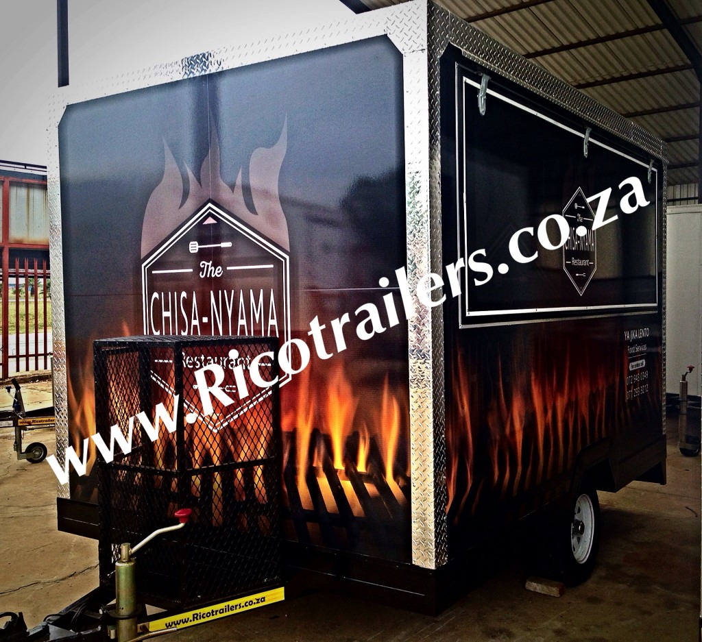Mobile Kitchen Trailer - Mobile food Trailer
