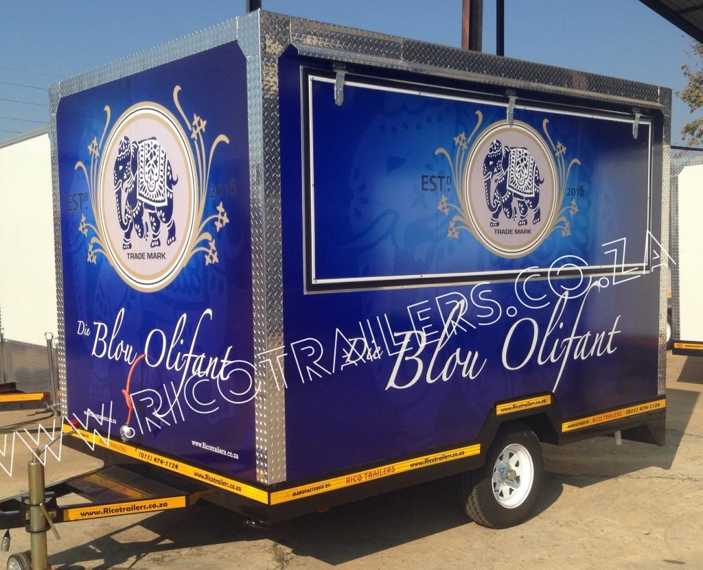 Mobile kiosk trailer - Elite - Rico Trailers SA
