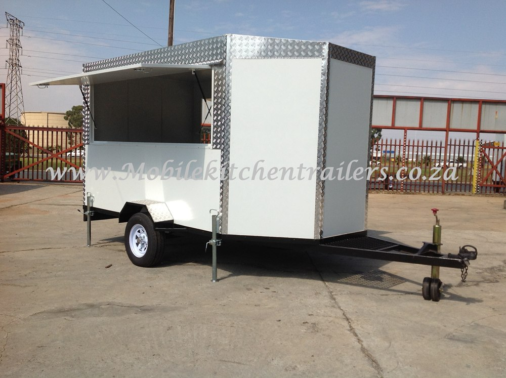 Mobile Catering Kitchen Vending Kiosk Trailer