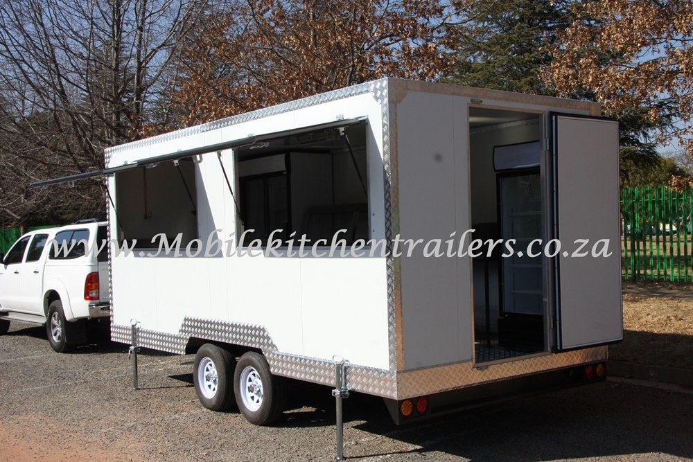 Mobile Catering Trailer Double Deluxe Model 098