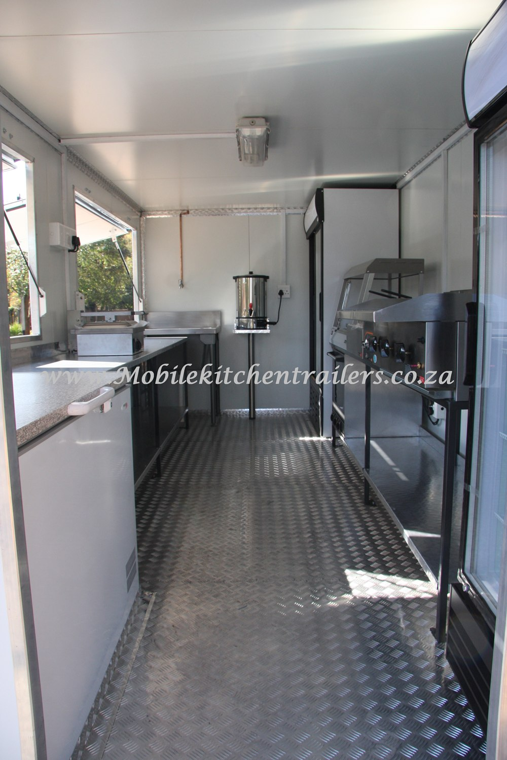 Mobile Catering Trailer Double Deluxe Model 104