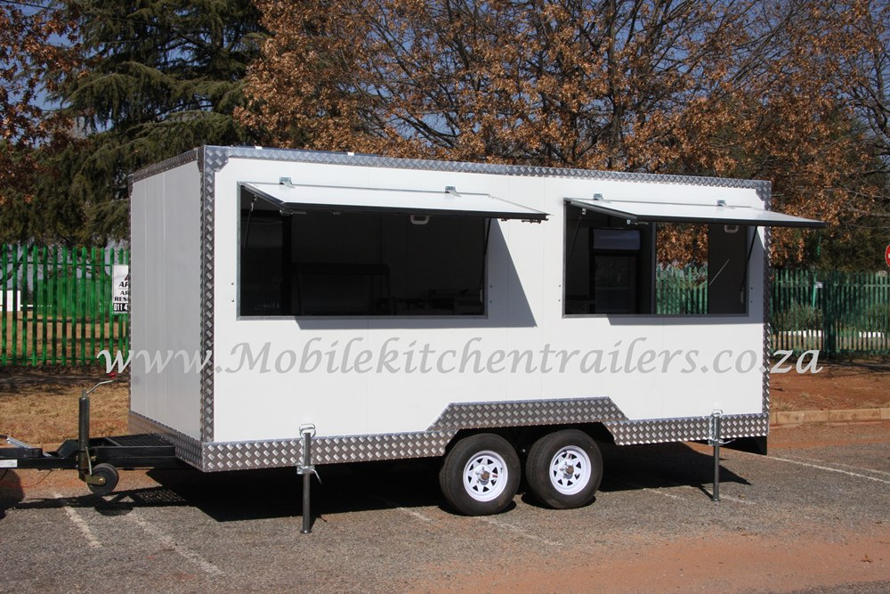 Mobile Catering Trailer Double Deluxe Model 125