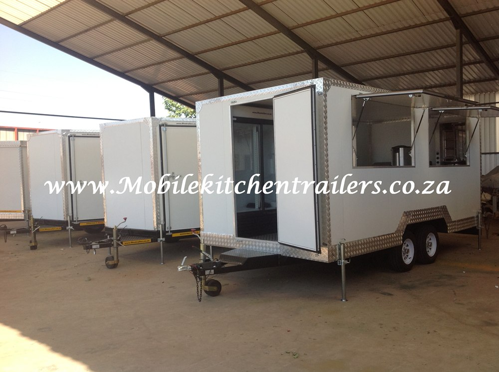 Mobile Kitchen Vending Kiosk Trailer Johannesburg South Africa