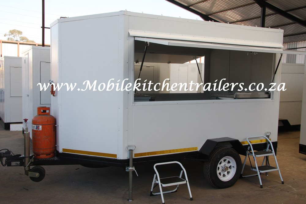 Mobile Kitchen Vending Kiosk Trailer Manufacturer South Africa Johanneburg