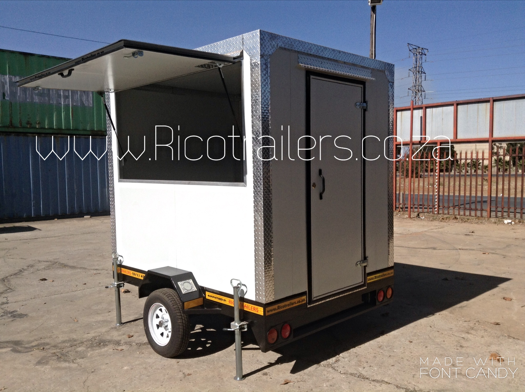 Mobile Kitchen Trailer for sale CHEAP Johannesburg SA