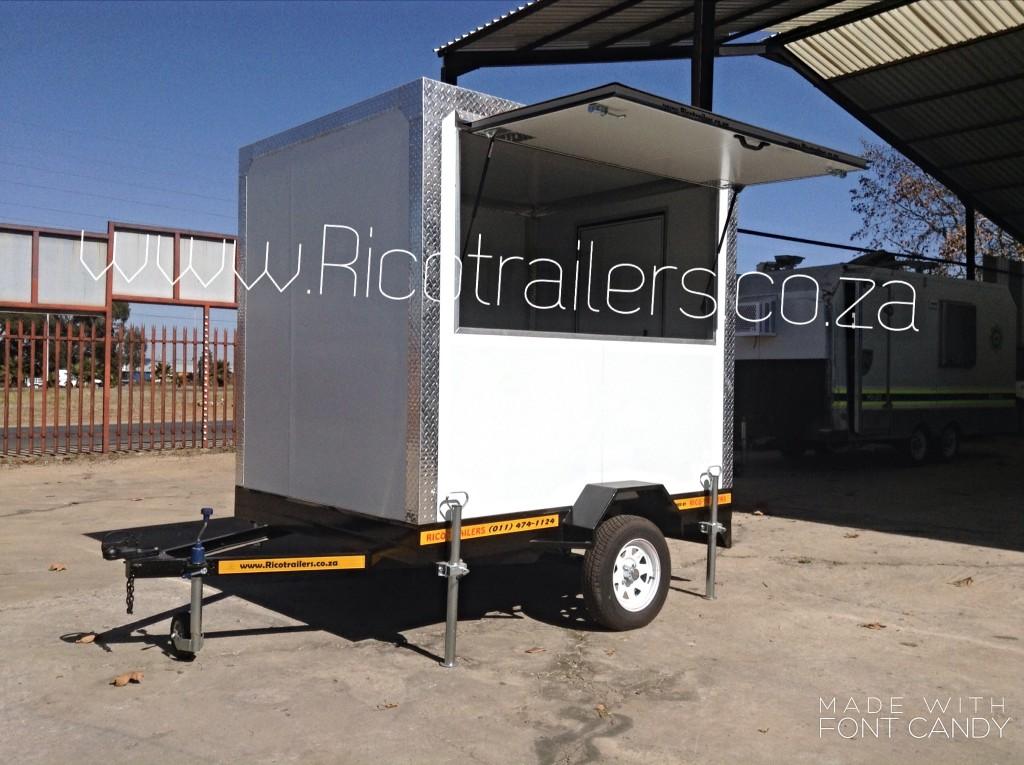 Mobile Kitchen Trailer - STANDARD MODEL