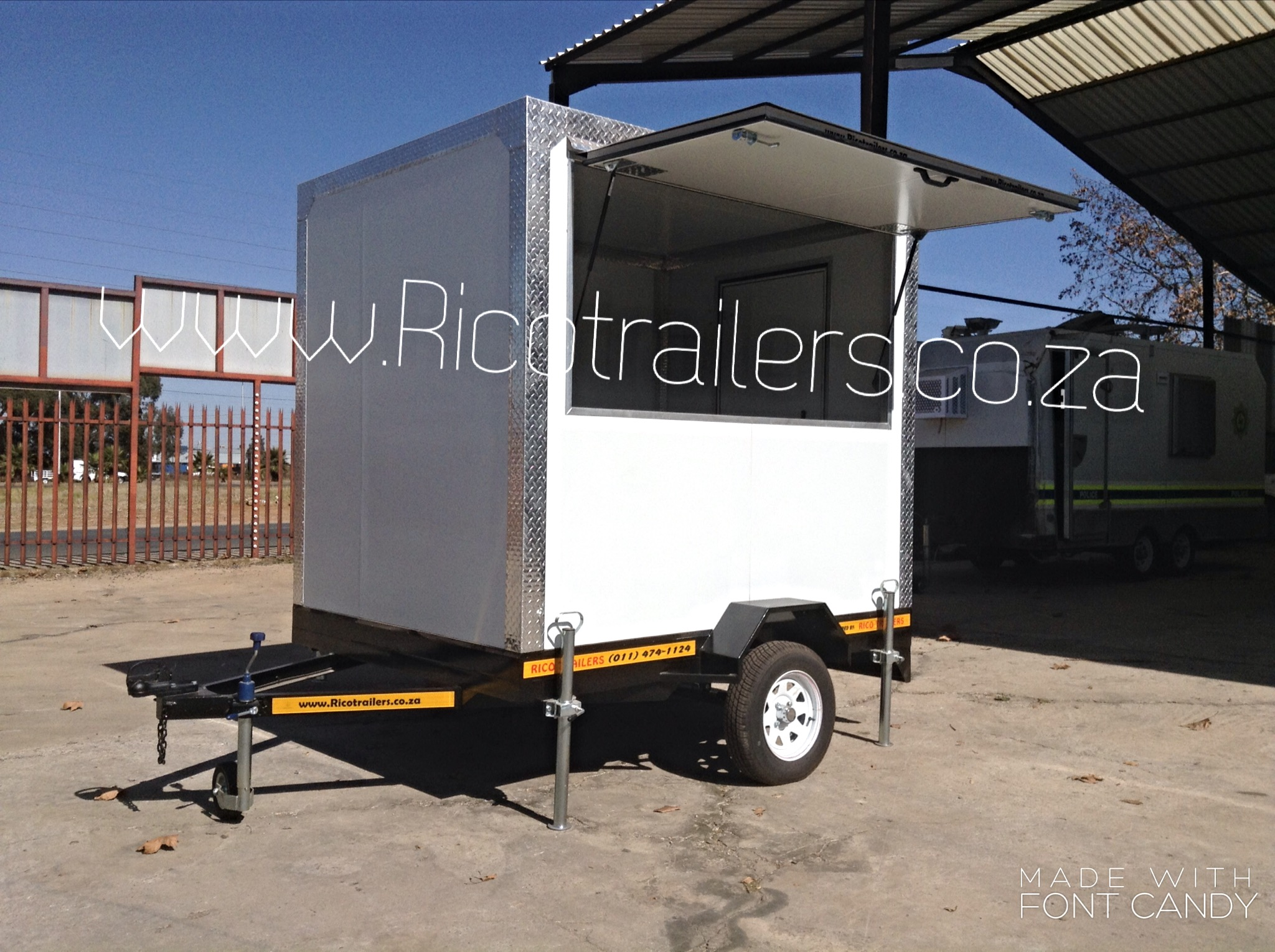 Mobile kitchen trailer for sale cheap johannesburg sa for Sa company kitchen